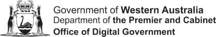 wa gov office of digital government perth